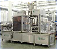 Автоматы линейные для фасовки в пластиковую тару